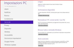 ripristino windows 8