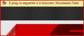 shockwave flash bloccato chrome