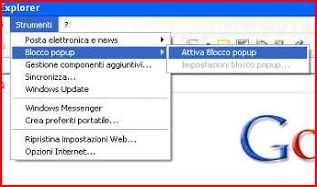 Come bloccare popup con internet explorer google chrome e - Impedire apertura finestre popup chrome ...