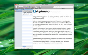 notepad per mac