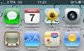 percentuale batteria su iphone