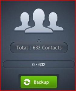 salvare contatti iphone su pc