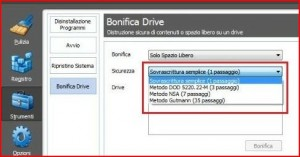 bonifica drive ccleaner online