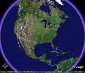 mappamondo virtuale