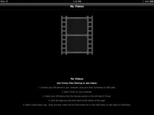 come vedere film su ipad