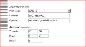 creare un codice a barre