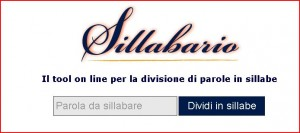 divisione in sillabe online