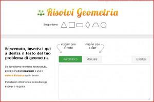 risolvere problemi di geometria