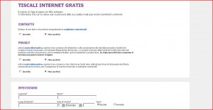 tiscali mail registrazione login