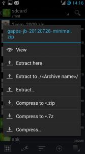 come aprire file rar su android gratis